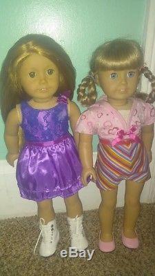 American Girl Doll Kierstan and Mia LOT