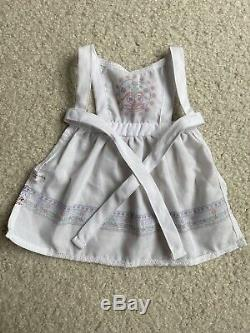 American Girl Doll Kirsten Baking Outfit Retired Rare Hair Ribbons
