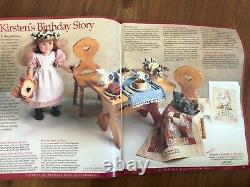 American Girl Doll Kirsten Birthday Pottery/Dishes & Party Treats RARE