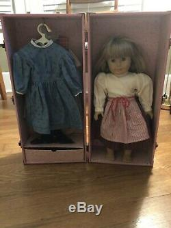 American Girl Doll Kirsten Pleasant Company With Accessories And Carrying Case