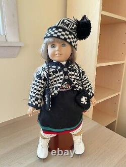 American Girl Doll- Kirsten (retired) Stand, 4 Outfits, Accessories & 2 Books