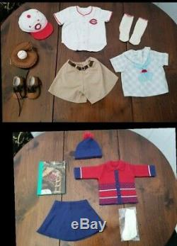 American Girl Doll Kit Retired Collection plus trunk Huge Lot Very Hard To Find
