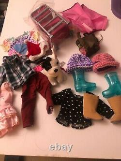 American Girl Doll Lot Of 3 Dolls, Grace and others With Clothes and Accessories