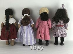 American Girl Doll Lot Of 4 Samantha, Felicity, Addy & Josefina 18 Inches