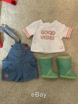 American Girl Doll Luciana Vega 18 2018 Girl of the Year & Extra Outfits