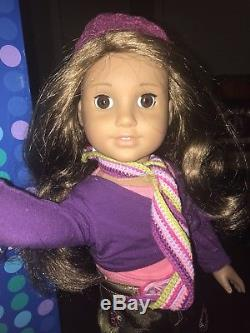 American Girl Doll Marisol Girl of the Year 2005 Retired in Box Meet Outfit