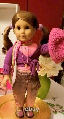 American Girl Doll Marisol Luna In Original Box & Dancing with the Stars Dress