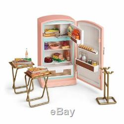 American Girl Doll Maryellen's Refrigerator and Food Set NEW