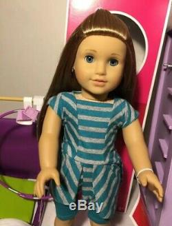 American Girl Doll Mckenna Of 2012 Retired Whole World Collection Lot Very Nice