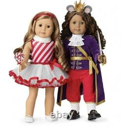 American Girl Doll Nutcracker Mouse King, Land Of Sweets, & Sugar Plum Fairy New