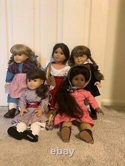 American Girl Doll- Pleasant Company Addy, Samantha, Josefina, Molly, Kirsten