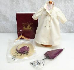 American Girl Doll SAMANTHA'S TRAVEL DUSTER & HAT + SCARF PARASOL Umbrella BOX