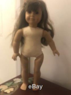 American Girl Doll SAMANTHA (WHITE BODY Pleasant Co.) withWest Germany Dress EUC