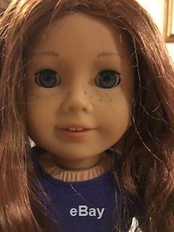American Girl Doll Saige Copeland GOTY 2013 2 Bonus shirts + sweater