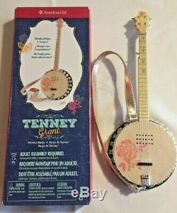 American Girl Doll Tenney Grant and Banjo with Box