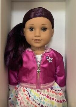 American Girl Doll Truly Me 86 Brown Eyes, Dark-Purple Hair Medium Skin NEW