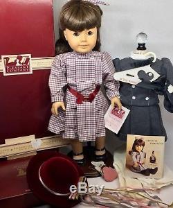 American Girl Doll White Body Samantha 1988  Pleasant Company+orig Box+extras