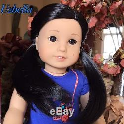 American Girl Doll Z's Yang BRAND NEW IN BOX WITH BOOK global shipping Z Doll