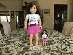 American Girl Dolls, Lot of 5 dolls. 2 mini matching dolls, Clothes, & shoes