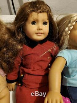 American Girl Dolls x 5 plus clothes