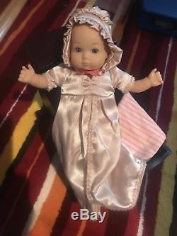 American Girl Felicity Baby Sister Polly with Cradle and Bedding