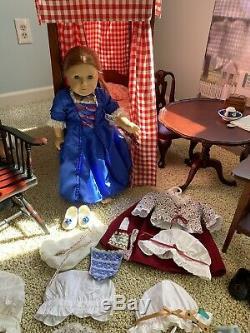 American Girl Felicity FULL SET + Pleasant Company Pre-Mattel Doll