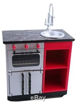 American Girl GRACES FRENCH BAKERY KITCHEN OVEN for 18 Dolls Sink Stove NEW