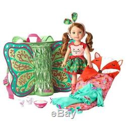 American Girl Gift Set WellieWishers Wellie Wishers Willa Doll with Accessories