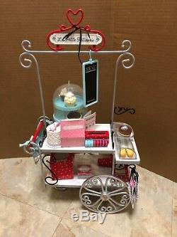 American Girl Grace Pastry Cart EUC Near Complete RETIRED