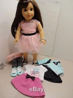 american girl grace thomas doll bakery kitchen bistro chair cart