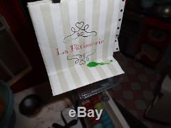 American Girl Grace Thomas Doll Bakery Kitchen Bistro +Chair Cart Food Clothes