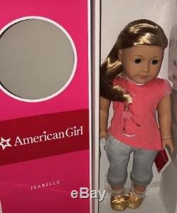 American Girl ISABELLE PALMER GOTY 2014 Doll and Book DiB