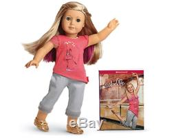 American Girl Isabelle & book- With Hair Extension- NEW Girl of the Year 2014