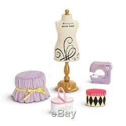 American Girl Isabelle's DANCE STUDIO Furniture SEWING Set for Isabelle Doll NIB