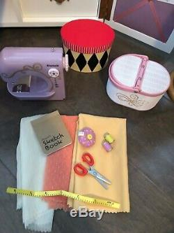 American Girl Isabelle's Sewing Studio RETIRED