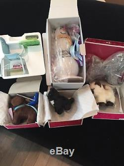 American Girl Items Lot