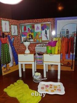 American Girl JULIE'S BEDROOM Accessories Gently Used EUC
