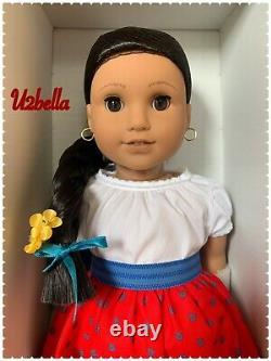 American Girl Josefina 18 Doll with BOOK Pierced Ears NEW IN BOX
