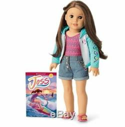 American Girl Joss Doll Girl of the Year 2020 NIB-with Meet outfit+Hearing Aids