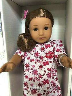 American Girl Kanani Hawaiian Doll New Head, Clip, Gown & Socks Excellent Body