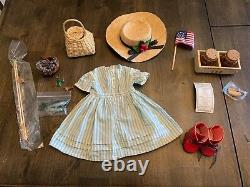American Girl Kirsten Pleasant Company doll, outfits, and accessories