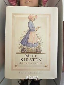 American Girl Kirsten (Pleasant Company) numbered #2383 signed 1987 original box