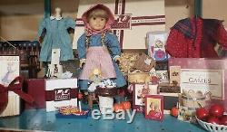 American Girl Kirsten White Body Doll&Accessories Huge Lot Rare Collectors Items