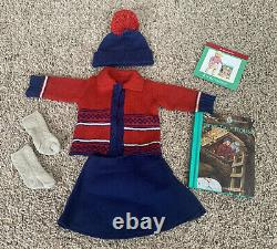 American Girl Kit's Retired Treehouse Outfit Complete with Book Excellent HTF