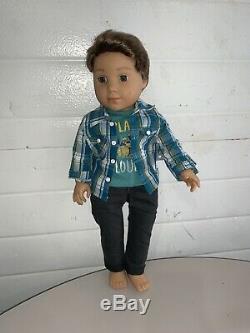 American Girl LOGAN Doll 1st Boy AG Doll