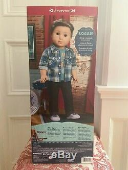 American Girl LOGAN EVERETT DOLL FIRST BOY DOLL BAND MATE NEW IN BOX