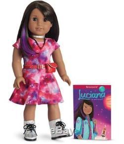 American Girl LUCIANA DOLL & Book New NIB 18 Astronaut STEM Lucianna Vega