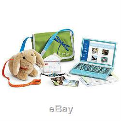 American Girl Lanie's ACCESSORIES Laptop Computer BUNNY Bag for Lanie Doll