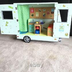 American Girl Lanie's Camper with All Accessories, Retired, 2010