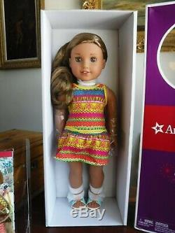 American Girl Lea Clark Girl Of The Year 2016 -18 New In Box With Accessories